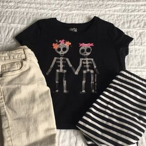 Gymboree Top and pants and skirt leggings
